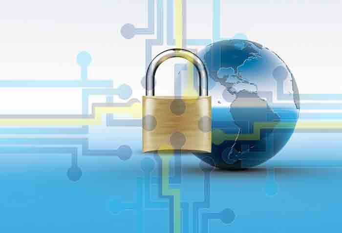 SSL-сертификат. интернет, замок
