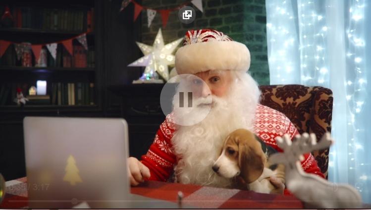 Бесплатное именное видеопоздравление от Деда Мороза