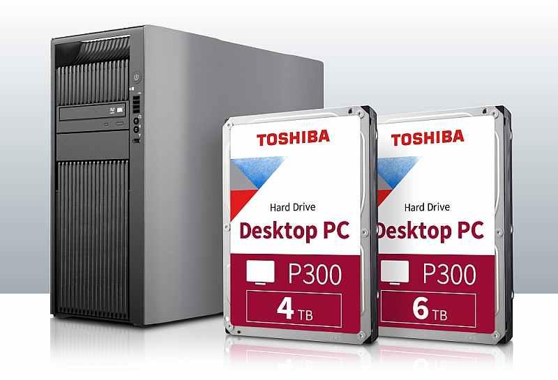 Toshiba дополняет серию накопителей P300 моделями емкостью 4 и 6 Тб