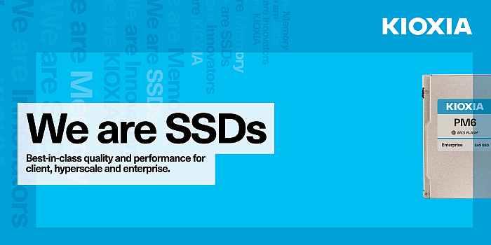 KIOXIA представляет первые в отрасли твердотельные накопители 24G SAS для серверов и хранилищ данных